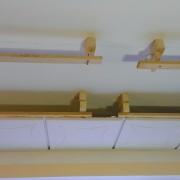 snížení stropu o 15 cm
