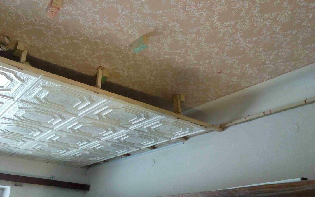 Snížené stropy, stropní systémy