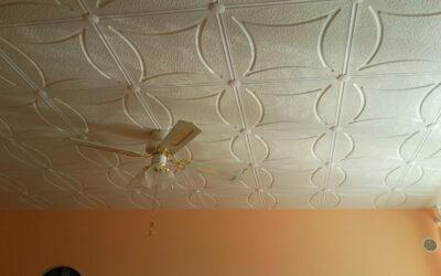 Stropní kazety: Kuchyň i strop zase svítí novotou!